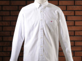 FK-BASIC SHIRT L/S  (WHITE)