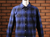 FK-WORK FLANNEL L/S Ⅰ (ROYAL)