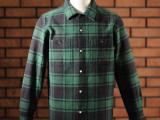FK-WORK FLANNEL L/S Ⅰ (GREEN)