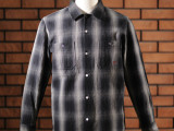 FK-WORK FLANNEL L/S Ⅱ (BLACK)
