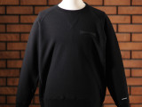 FK-LOGO CREWNECK SWEATER  (BLACK)