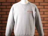 FK-LOGO CREWNECK SWEATER  (HEATHER GREY)