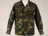 FK-BDU SHIRT L/S RIPSTOP (WOODLAND) ¥24,000- (FRONT SIDE)