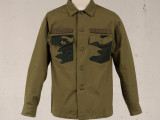 FK-BDU SHIRT L/S RIPSTOP (OLIVE DRAB) ¥20,000- (FRONT SIDE)