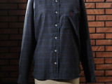 FK-B.D WINDOWPANE L/S (BLACK)