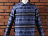 FK-NATIVE FLANNEL L/S (BLUE) ¥24,000- [FRONT SIDE]