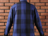 FK-BIG CHECK FLANNEL/LONG (BLUE) ¥20,000- [BACK SIDE]
