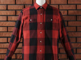 FK-BIG CHECK FLANNEL/LONG (RED) ¥20,000- [FRONT SIDE]