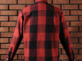 FK-BIG CHECK FLANNEL/LONG (RED) ¥20,000- [BACK SIDE]