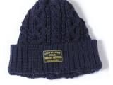 FK-ARAN CAP (by HIGHLAND 2000) (NAVY)