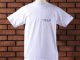 FK-LOGO TEE (WHITE) ¥6,000- (FRONT SIDE)