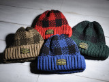 FK-WATCH CAP (BROWN/RED/BLUE/GREEN)