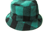 FK-BEACH HAT (by Harris Tweed) ¥14,000-