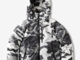 FK-AURORA DOWN JKT/3M/NANGA® [SNOW CAMO] ¥65,000-
